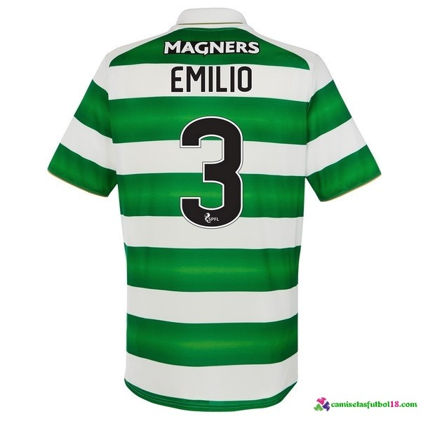 Emilio Camiseta 1ª Kit Celtic 2016 2017